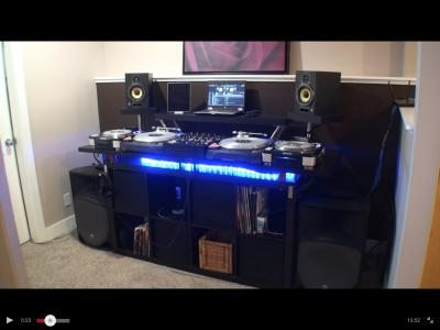Como crear una cabina profesional con muebles de ikea - Muebles para dj ...