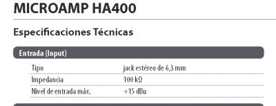Error en Manual de usuario Behringer HA400 Specs.jpg