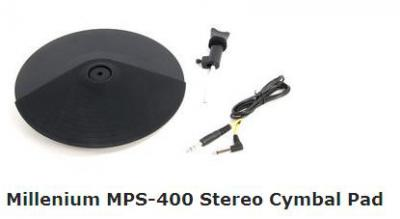 Millenium MPS-400 Stereo Cymbal Pad.JPG