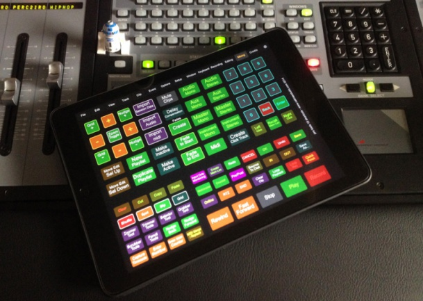 Plantillas Pro Tools iPad TouchOSC OSCulator