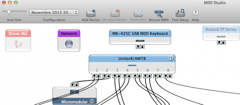 Audio MIDI Setup Mac OS X