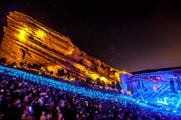 Skrillex en Red Rocks
