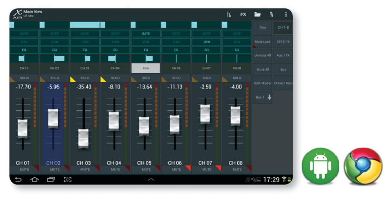 Behringer X AIR Android
