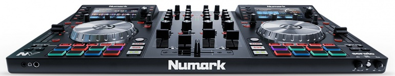 Numark NV vista frontal