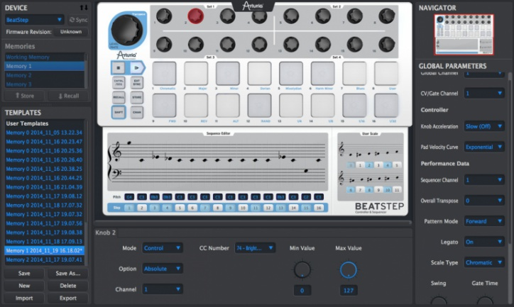 Beatstep software