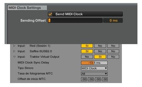MIDI Clock Offset