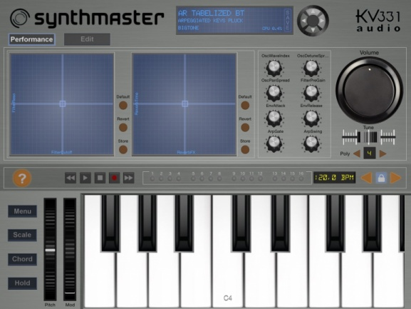 Synthmaster Player para iPad