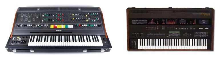 Yamaha CS80 y DX1
