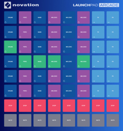 Novation Launchpad Arcade