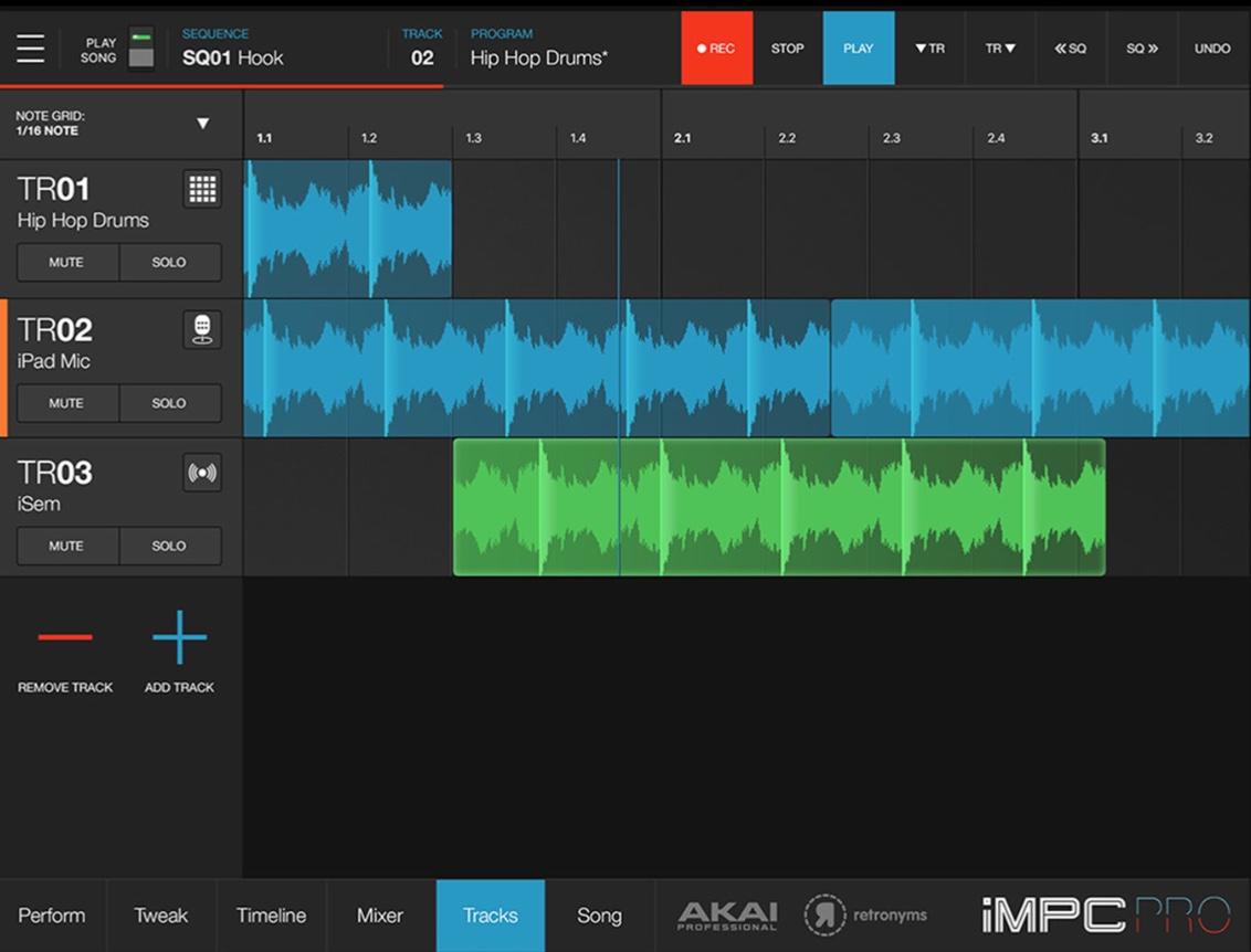 ¡Akai iMPC Pro 2 es ahora un DAW completo!