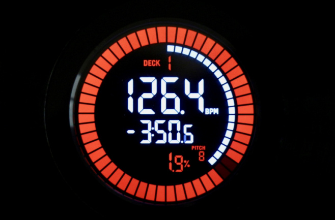 Numark NS6II Jog Display