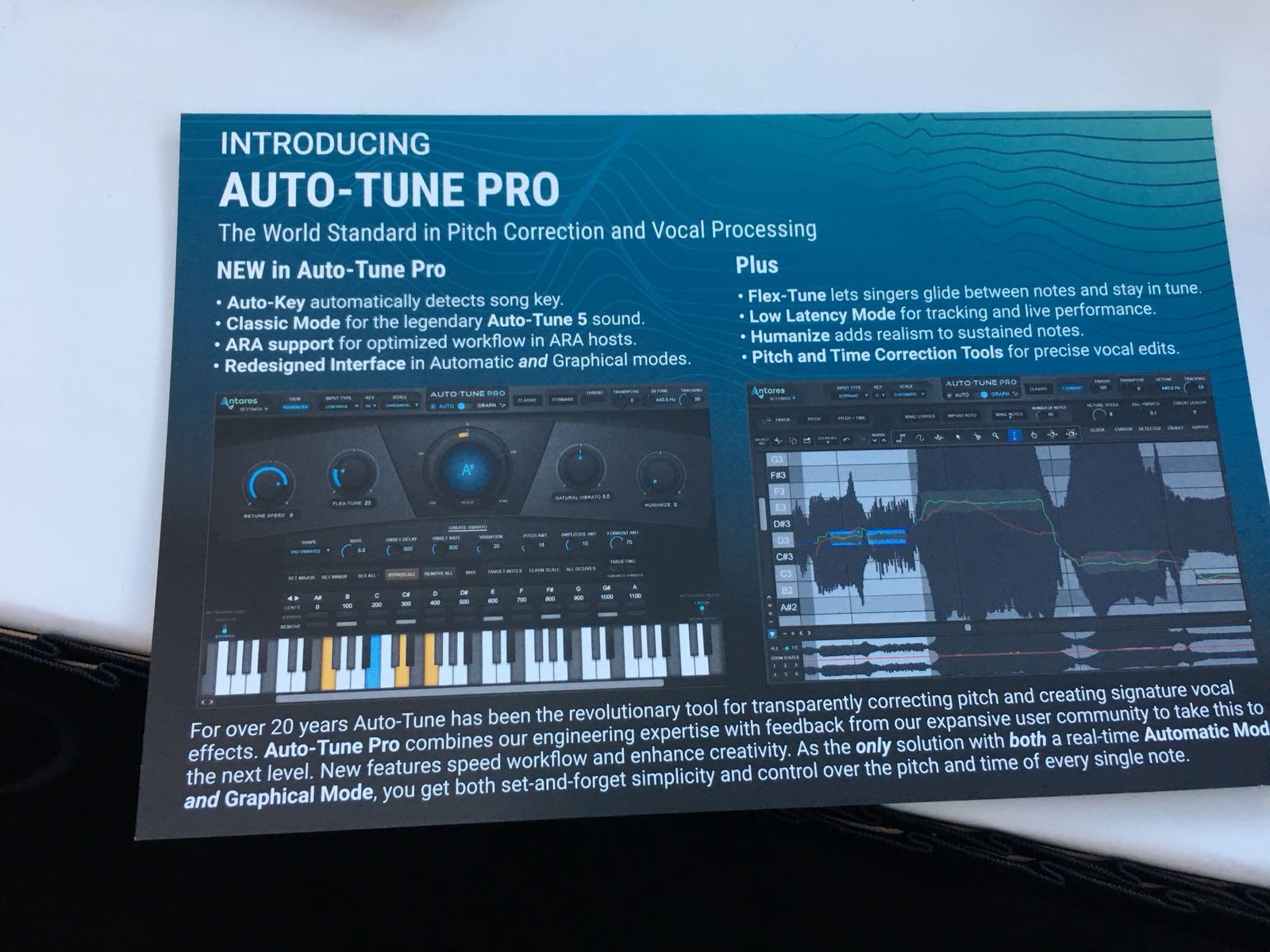 Antares Auto-Tune Pro renueva el estándar de corrección de