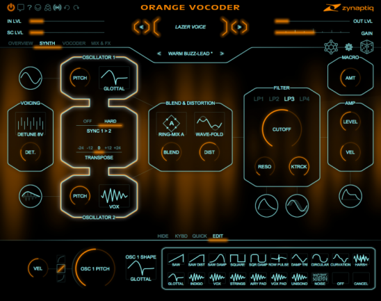 Orange Vocoder IV