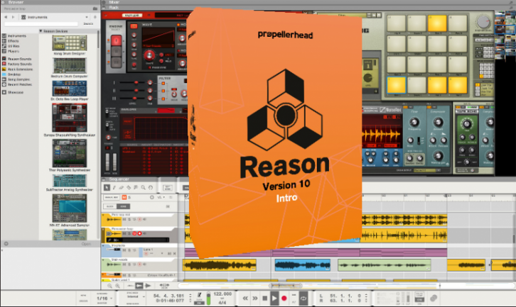 Reason 10 Intro de Propellerheads