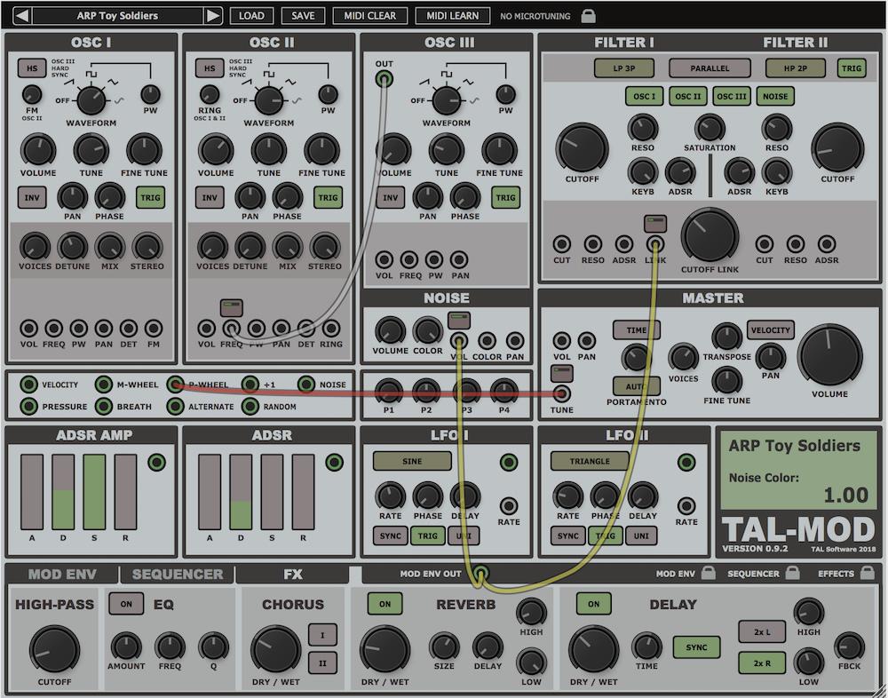 TAL-Mod, el sinte modular virtual de Togu Audio Line   Hispasonic