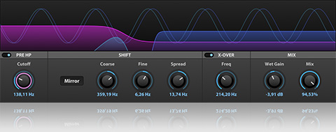 Frequency Shifter en UVI Falcon 1.5