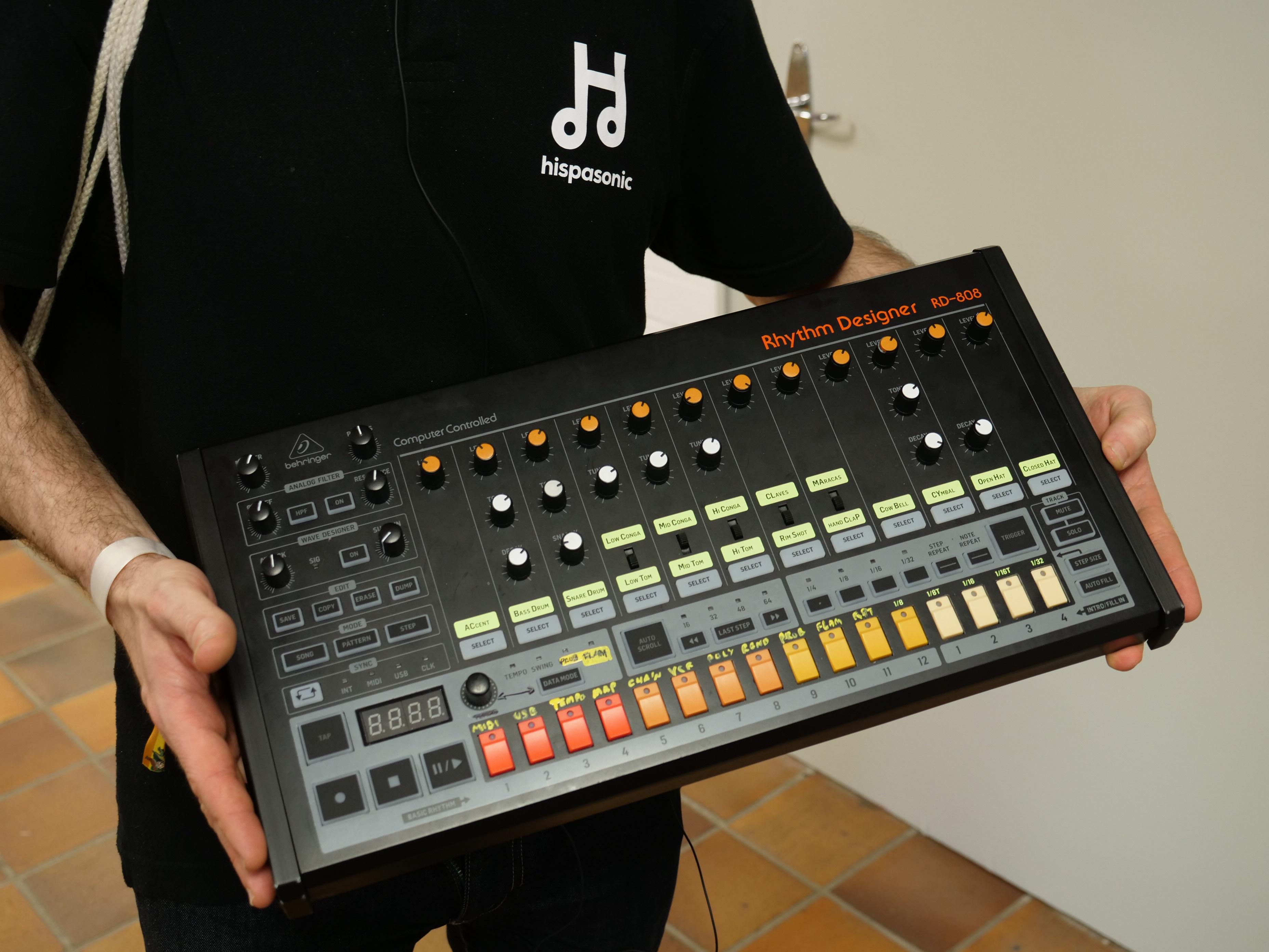 Behringer lanza demo con audio de su RD-808 y anuncia una
