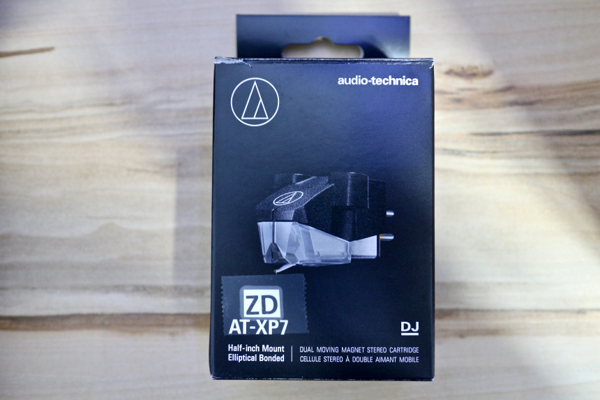 Audio Technica AT-XP7 caja
