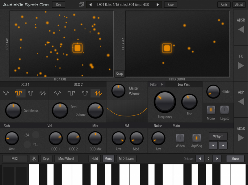 Synth One, sinte open source con AudioKit Pro