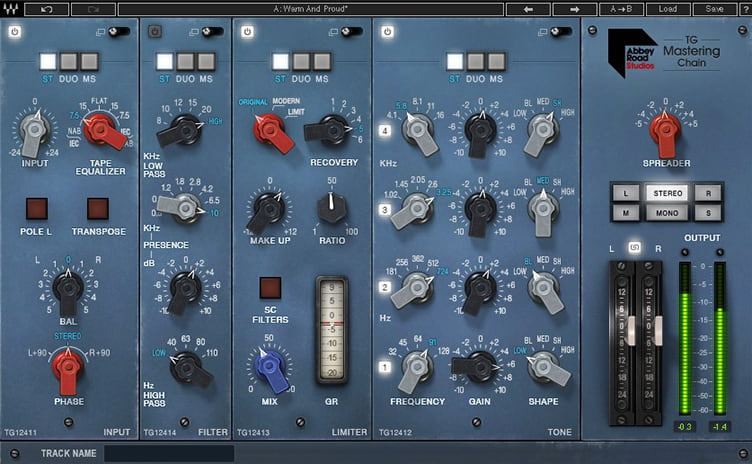 Waves TG Mastering Chain