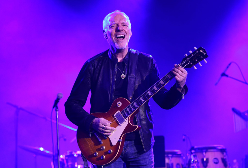 Peter Frampton, galardonado con el Les Paul Innovation Award en los TEC 2019