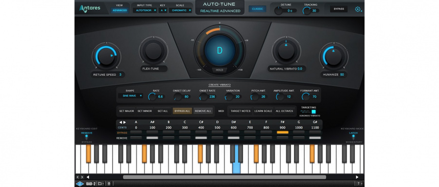Auto-Tune Realtime Advanced UAD