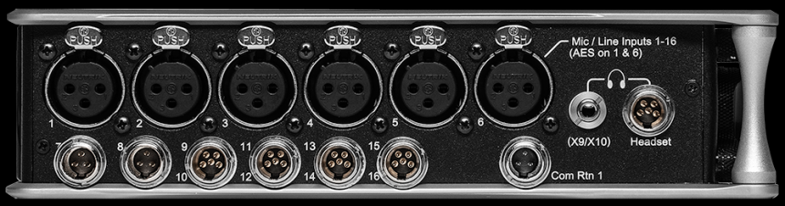 Sound Devices Scorpio izquierda
