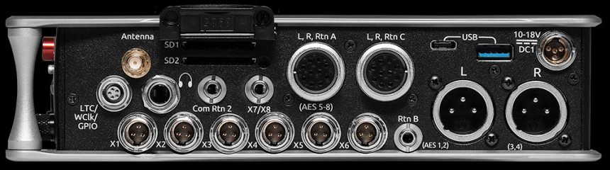 Sound Devices Scorpio derecha