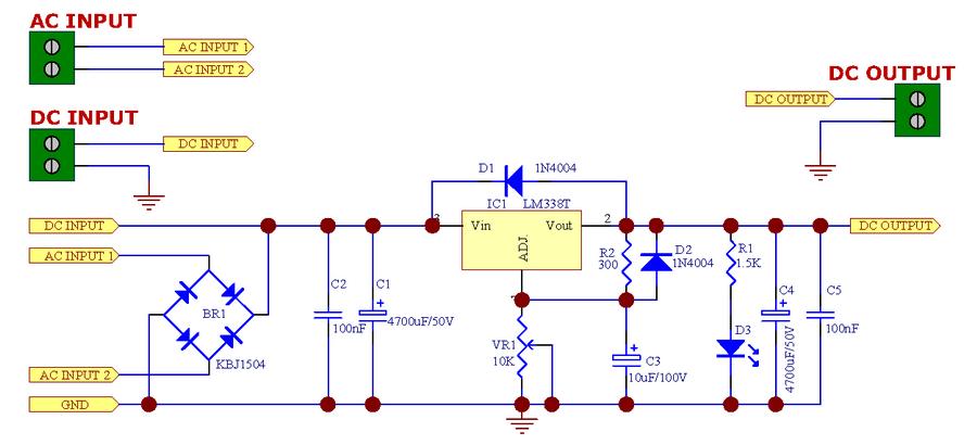 Http Circuitdiagramhqewnet Adjustablevoltageregulatorcircuit