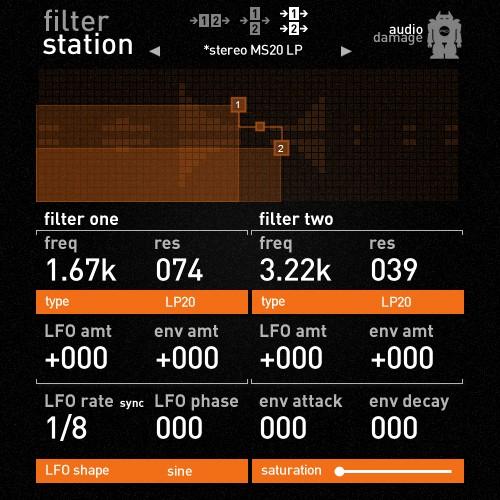 Audio-Damage Filterstation