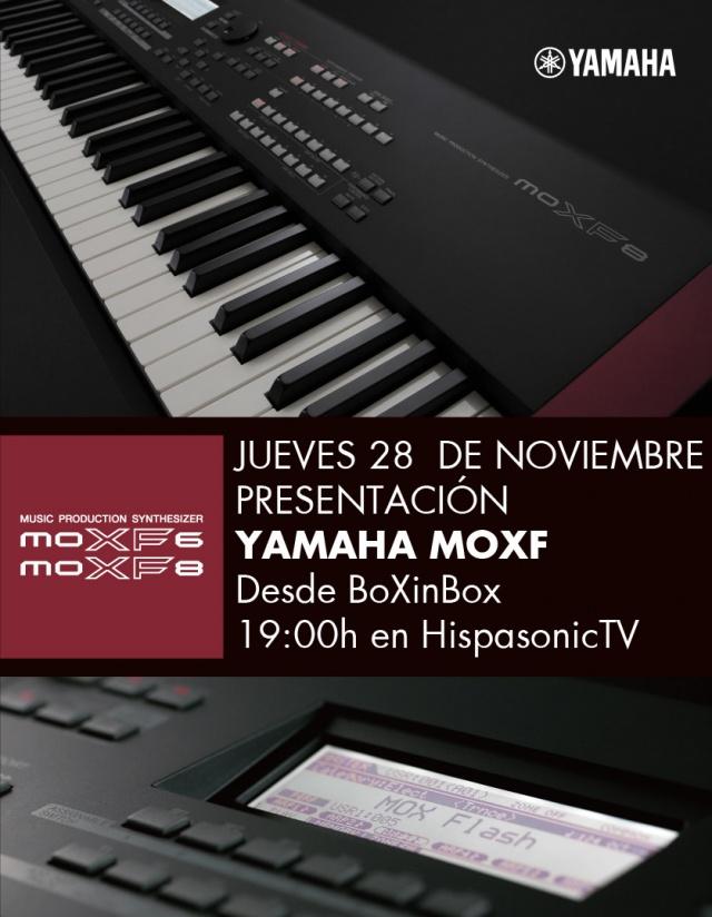 Presentación de Yamaha MOXF