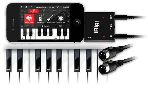 SampleTank iRig MIDI