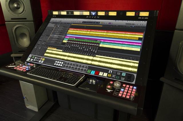 Logic Pro X en Slate Raven MTX