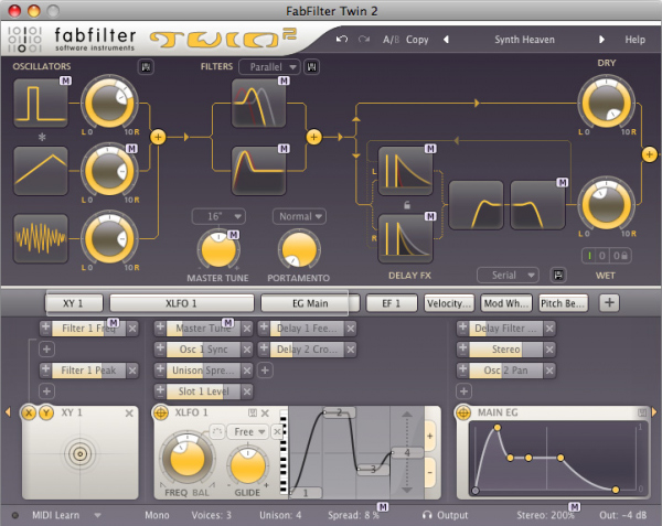 FabFilter Rob Lee Sound Set para Twin 2