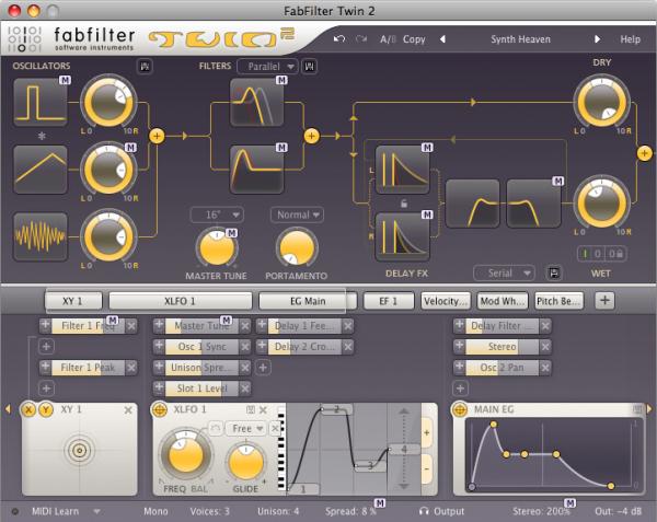 FabFilter Rob Lee Sound Set para Twin 2