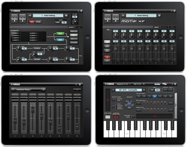 Apps iPad Yamaha Motif XF