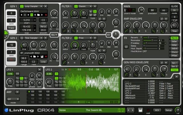 Linplug CrX4 CronoX