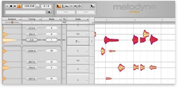 Melodyne Editor 2