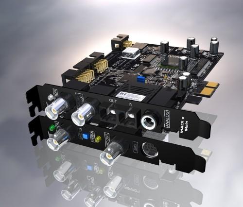 Tarjetas PCI-Express de RME
