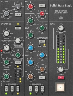 SSL E Channel Strip UAD