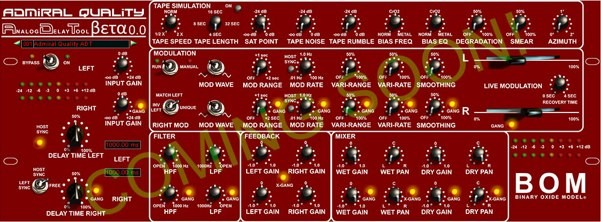 Admiral Quality Audio Delay Tool