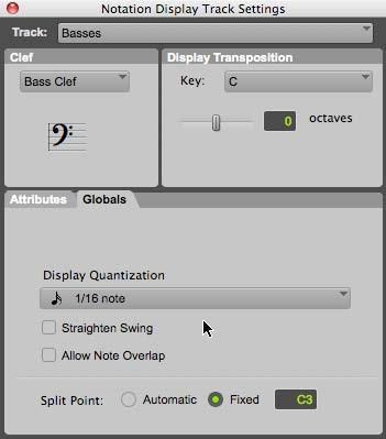 Score Editor Pro Tools