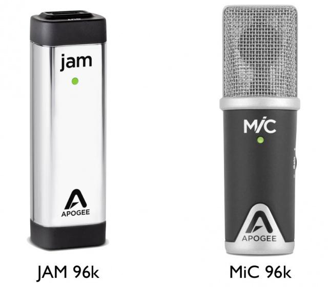 JAM 96k y MiC 96K.