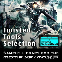Twisted Tools Selection para Yamaha MOXF y MOTIF XF