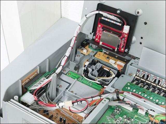 Korg Triton con tarjeta Compact Flash interna