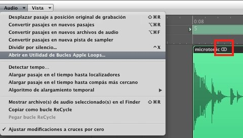 Logic Pro Apple Loops utilidad