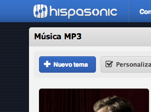 Subir música a Hispasonic