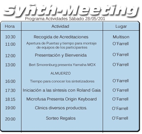 Programa Synth Meeting