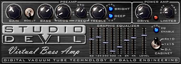 Studio Devil Virtual Bass Amp