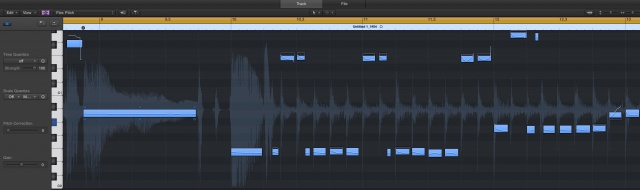 Flex Pitch - Logic Pro X